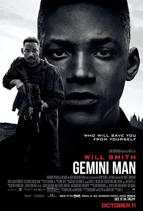 printdesign Gemini Man - Movie Poster Wall Decor Cartel de ...