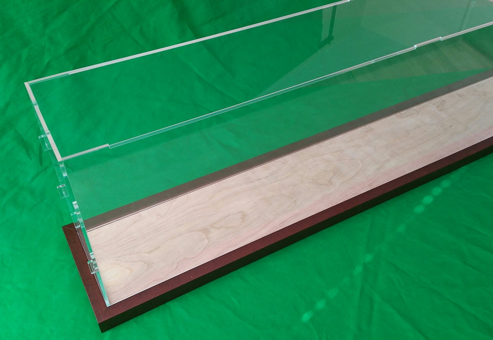 42''L x 6''W x 12''H Display Case Box for Model Cruise Ships and Ocean Liner LGB and G Scale Trains 1/32 1/23 Plexiglass Acrylic by Acrylicjob (Image #9)