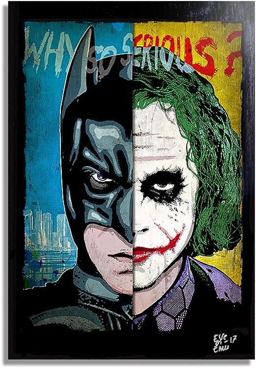 batman the dark knight vs joker heath