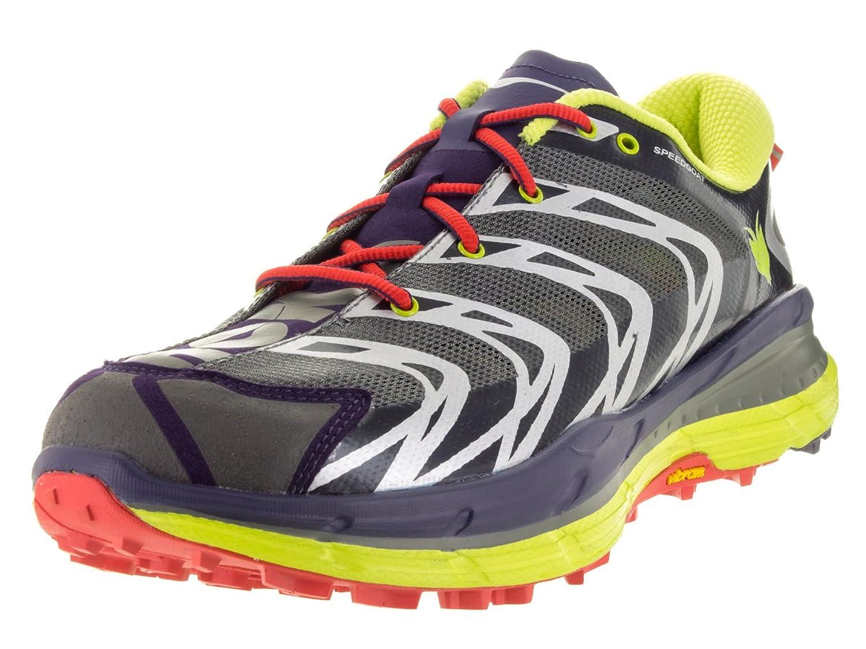 Hoka One One Speedgoat Running Shoe Men's Bright Red/Black 9 B00RW5EOXA