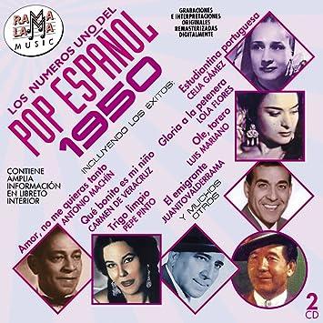 Los Numeros 1 Del Pop Espanol 1950 / Various