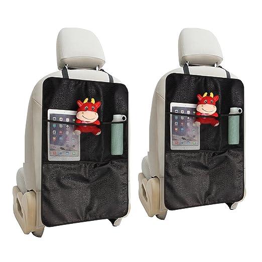 9 opinioni per MATCC 2pcs Protezione Sedile Auto Organizer Auto Bambini Proteggi Sedile Auto