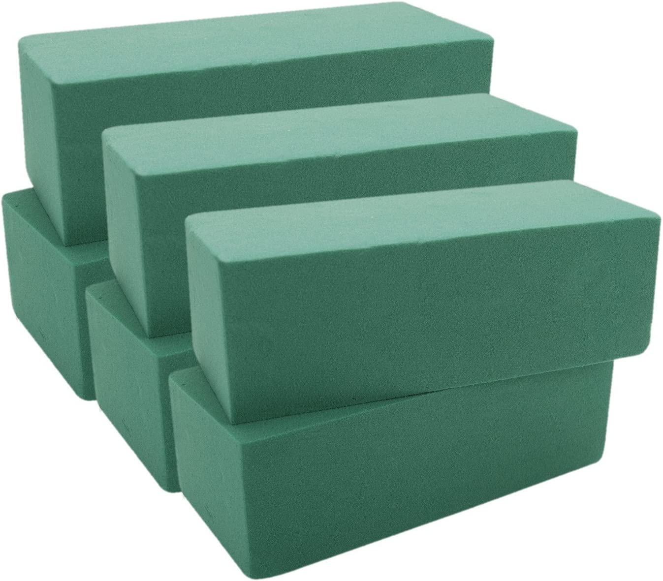 "FLORAL SUPPORT GREEN FOAM ARRANGER ROUNDS 2 PK . 2 4/"" W X 2/"" H NEW!! LOT OF"