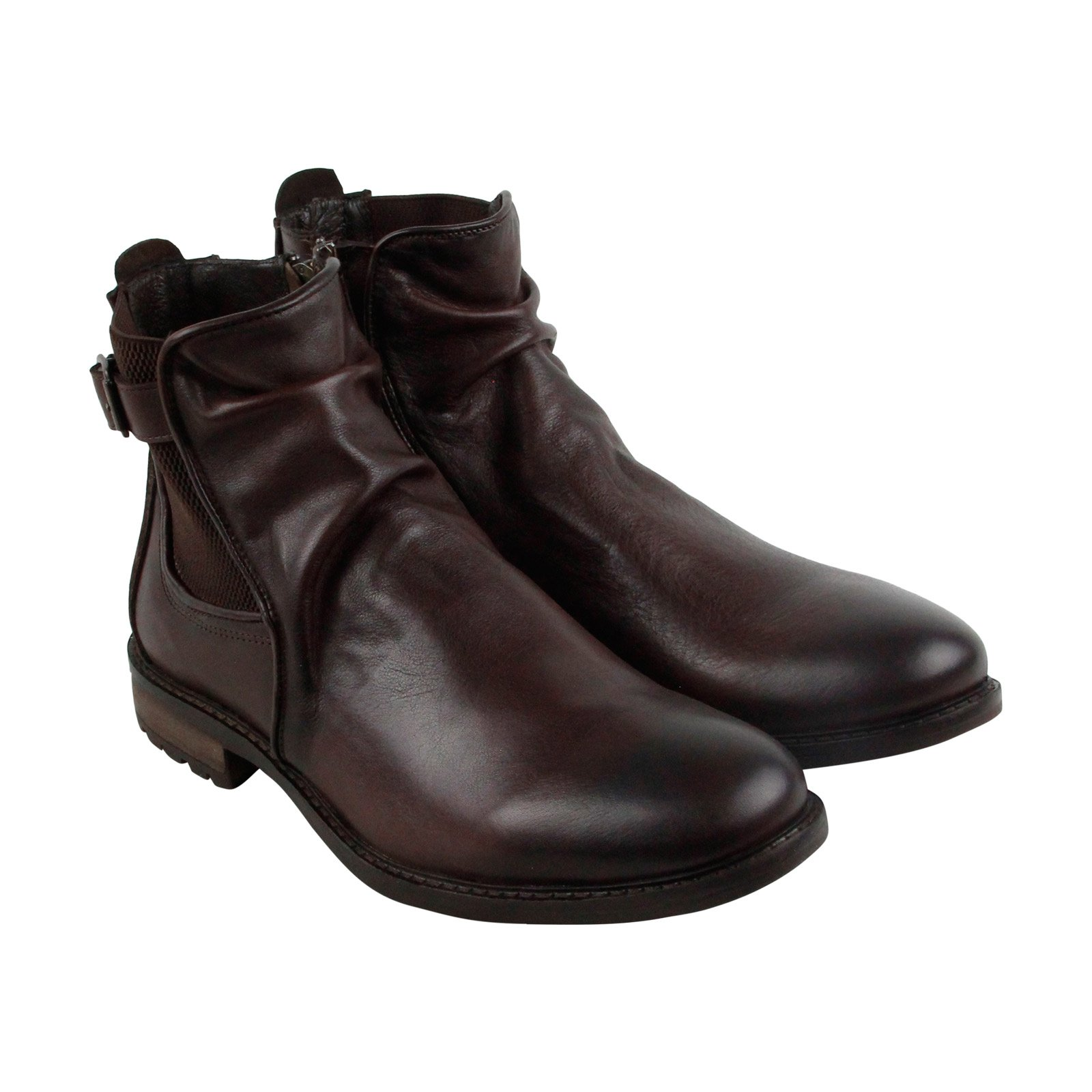 Steve Madden Men's Loren Chelsea Boot, Dark Brown, 8 US/US Size Conversion M US by Steve Madden
