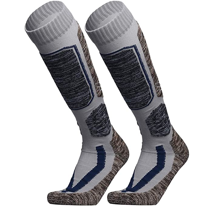 b4f610a42 Amazon.com  WEIERYA Ski Socks
