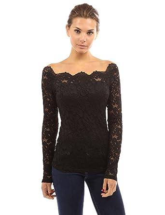 6bae9441dae PattyBoutik Women's Floral Lace Off Shoulder Top: Amazon.com.au: Fashion