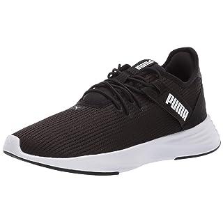 PUMA Women's Radiate XT Sneaker, Black Whit, 7 M US