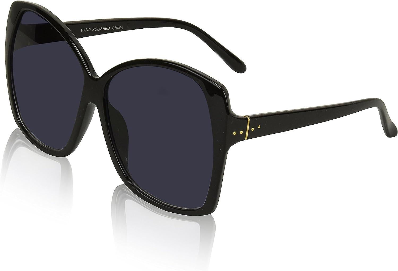 Oversized Sunglasses For Women/Men Square Butterfly Sun Glasses UV400 Protection