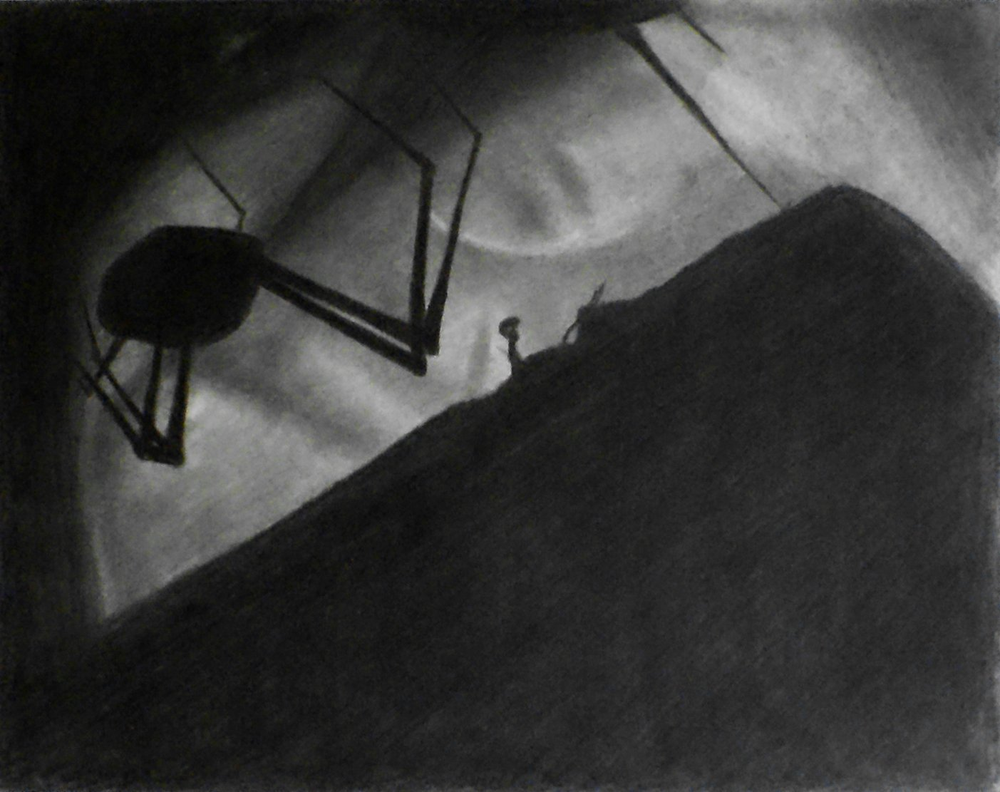 Amazon com 1 11x14 limbo charcoal drawing and illustration