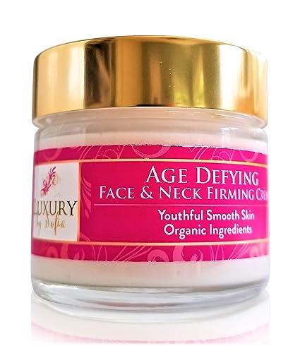 Crema facial de lujo por Sofia orgánica para depilación de la edad y la piel del ...