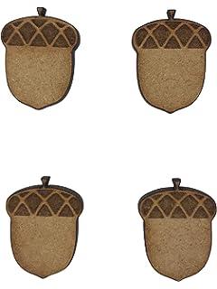 2x Intricate Heart Trees 18cm Wood Craft Embelishments Laser Cut Shape MDF