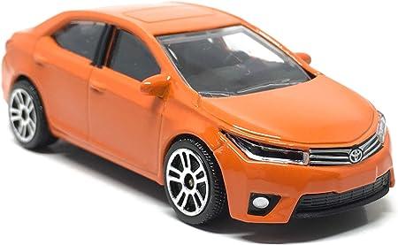 Fonza Toyota Corolla Altis Orange - 1/64 Scale Diecast Car - Scale 1:61 / 3 inches Car - MJ Ref 292J - Wheels D5S - New Car no Package