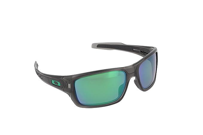 06e44242b96 Oakley Men s Turbine OO9263-09 Polarized Iridium Rectangular Sunglasses