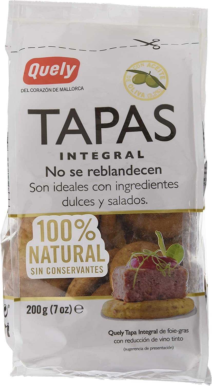 Quely Quely Tapas Integral 200 g Pack de 10
