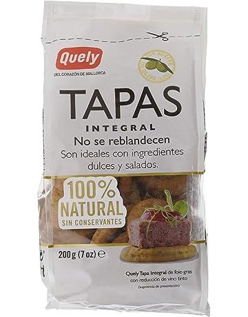 Quely, Crackers salado de agua (Tapas, Integral) - 10 de 200 gr