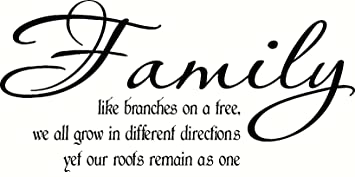 Amazoncom Family Like Branches On A Tree We All Grow In