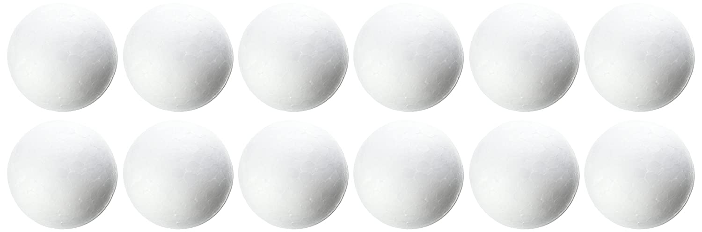Darice 01254P 12-Piece Dura Foam Balls for Craftwork 1.5-Inch