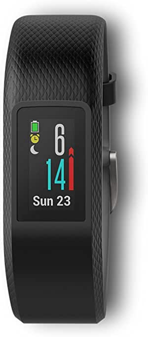 Garmin vívosport, Fitness/Activity Tracker with GPS and Heart Rate Monitoring, Slate