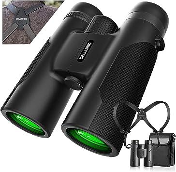 Compact Folding Binoculars for Bird Watching Hunting Fogproof /& Waterproof Binoculars with Multi Coated Concert and Sports Games High Power 10x42 Binoculars with Handbag Hiking