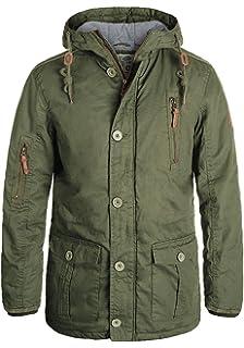 28740bb2f56bf Solid Clark Jacke Veste d hiver Blouson D Extérieur pour Homme à Capuche !