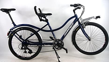 Bicicleta Tandem Compact SMP con cambio SHIMANO 21 V ...