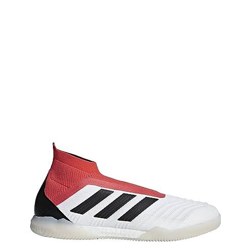 Adidas Predator Tango 18+ In, Zapatillas de fútbol Sala para Hombre, Blanco (Ftwbla/Negbas / Correa 000), 47 1/3 EU: Amazon.es: Zapatos y complementos