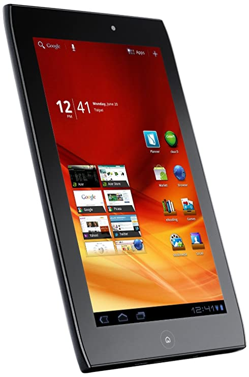Awesome Amazon Com Acer A100 07U08W 7 Inch 8Gb Android Tablet Download Free Architecture Designs Rallybritishbridgeorg