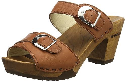 Venta Sitio Oficial WoodyPatricia - Ciabatte Donna amazon-shoes marroni Manchester Salida Salida Para El Buen Limpia Y Clásica Comprar Barato 2018 Nueva pzrLkOajT