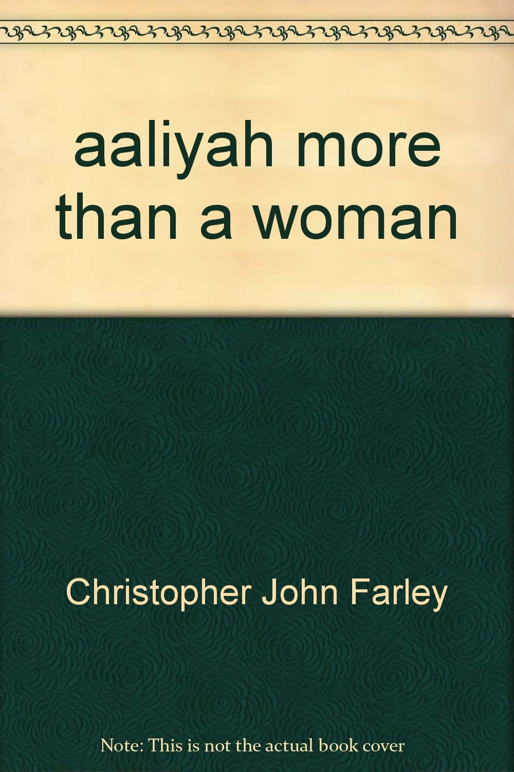 aaliyah more woman Christopher Farley product image