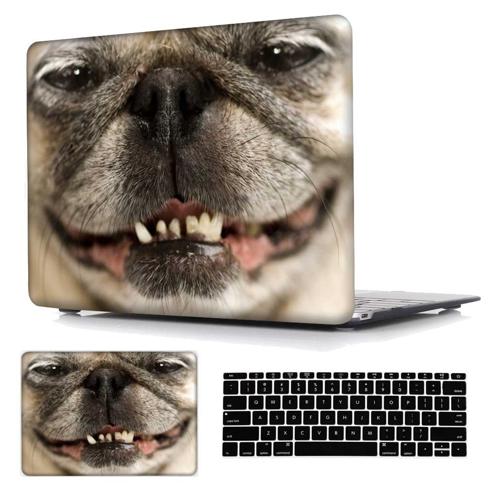 Plastic Hard Case with Keyboard Skin For Macbook Air 13 inch (Model:A1369 / A1466), Panda Animal Pattern May Chen