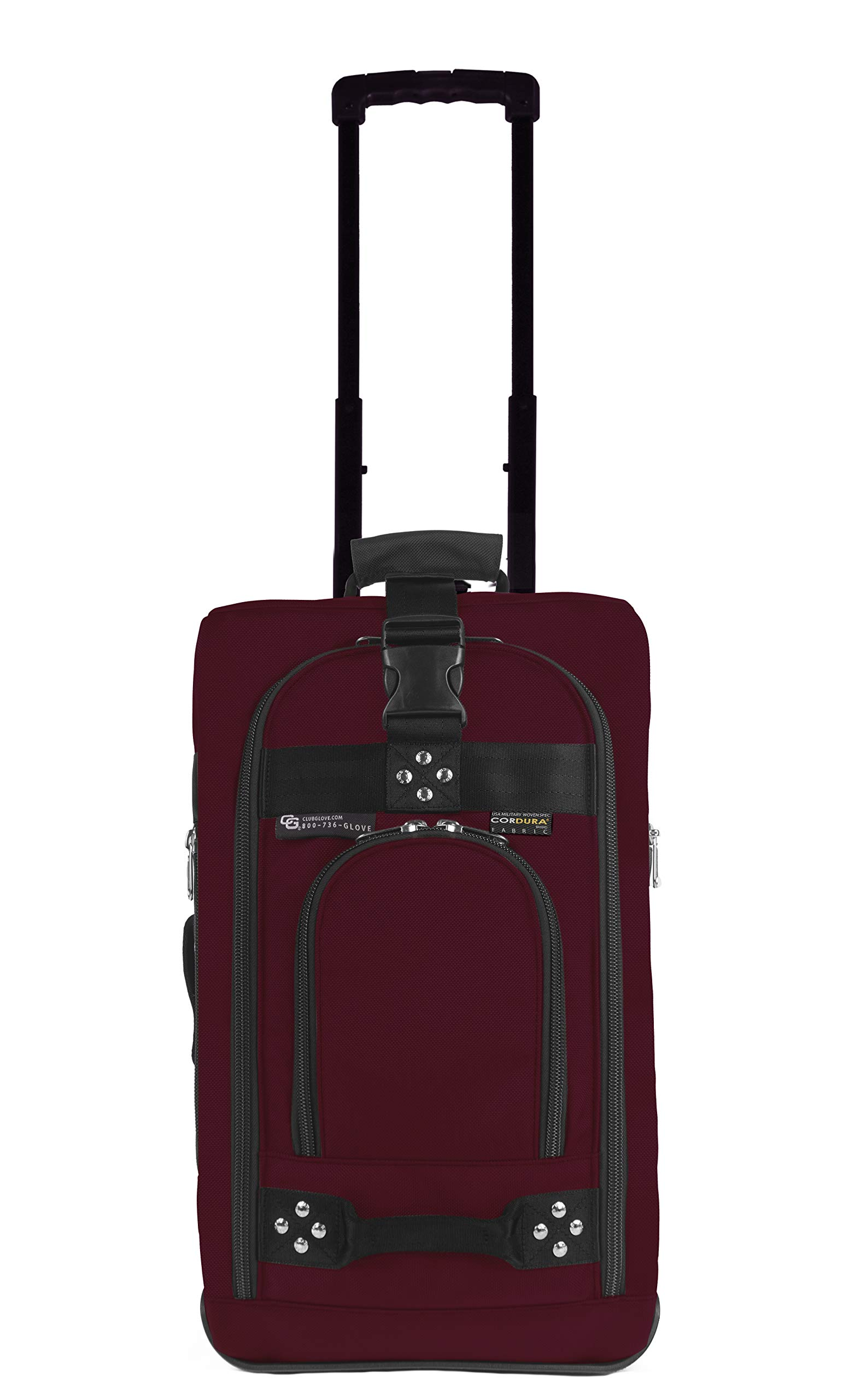 Club Glove Carry ON Bag III Burgundy