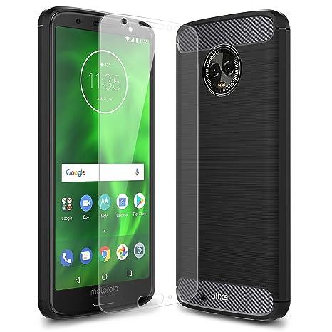 Amazon.com: Olixar Motorola Moto G6 - Funda con protector de ...