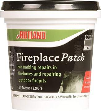 Amazon Com Rutland 62 Fireplace Dry Mix Patch Home Kitchen