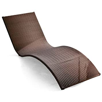 Incurvé Chaise En De Curve Soleil Rotin Bain Jardin Longue dCxoBWre