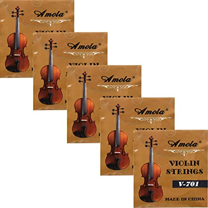 4//4 Size D-3 String for Professional Violin in 3//4
