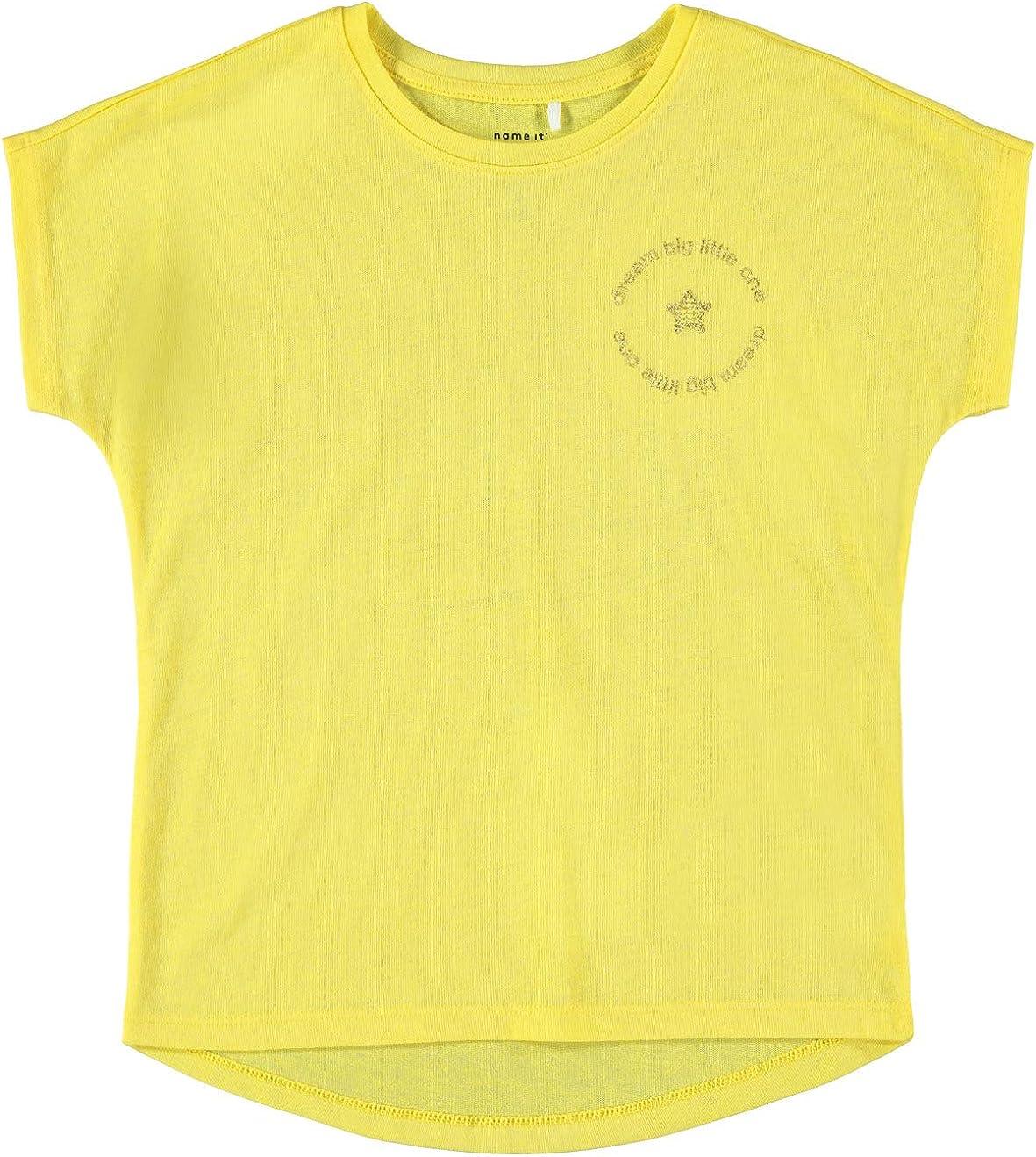 NAME IT M/ädchen Nkfdeniz Ss Top T-Shirt