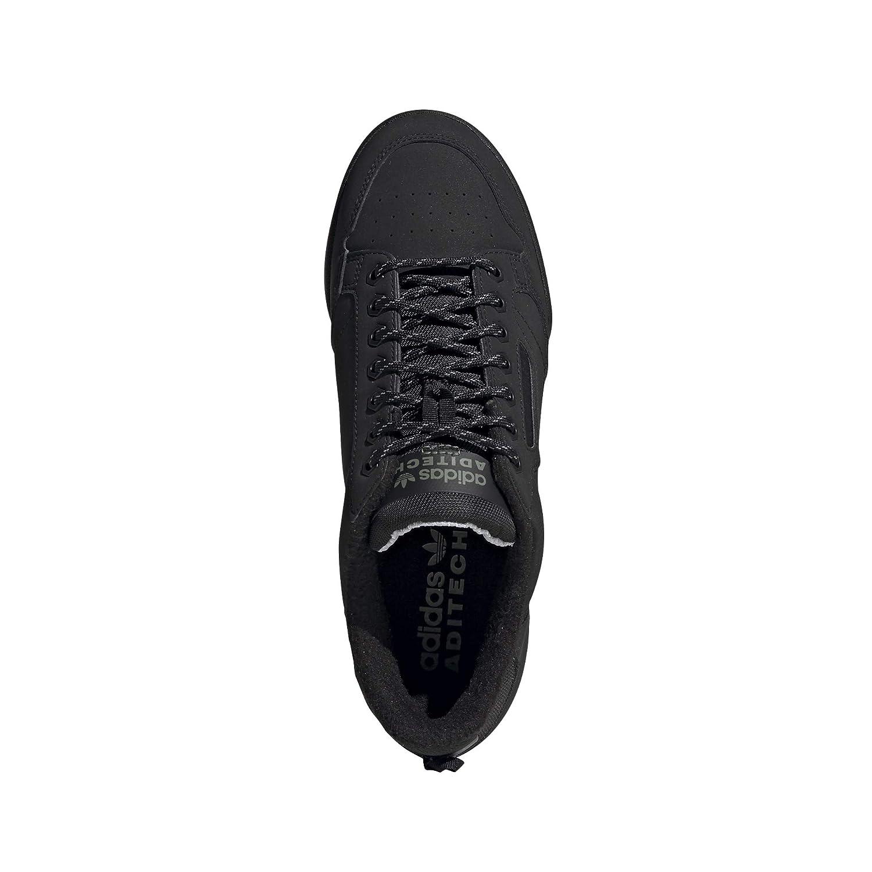 adidas continental 80, scarpe da ginnastica uomo, core blackcore blackcore black, 46 eu