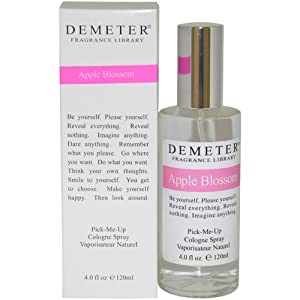 Demeter Cologne Spray, Apple Blossom, 4 Ounce