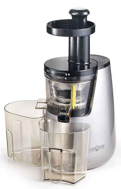 TOPWAVE ES40 Extractor de zumo en frío de cualquier nueva generación, 40 RMP, 250W