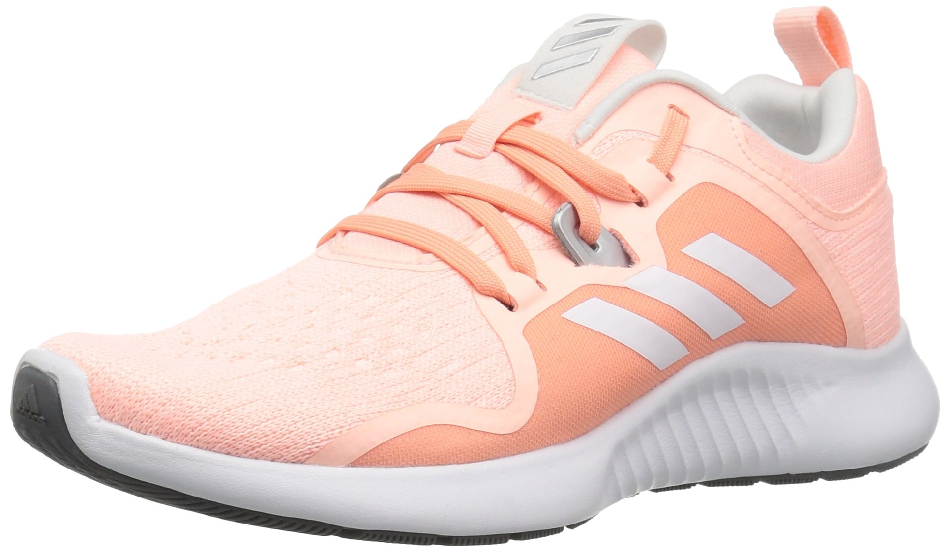 adidas Women's EdgeBounce Running Shoe, Clear Orange/White/Copper Metallic, 5 M US
