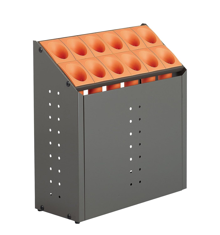 テラモト オブリークアーバン C12 全4色 全4サイズ 施設向け 傘立て オレンジ 12本収納 UB-285-212 [正規代理店品] B0033VTWRU 13870