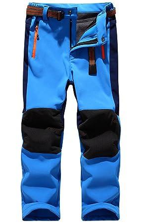 precio de fábrica primer nivel más de moda Pantalon Impermeable Trekking Niño Softshell Pantalones de ...