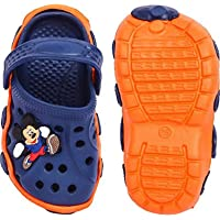 Fly Attractive Comfortable Mickey Rubber Clog Slipper for Children Boys & Girls 3 to 6 Years