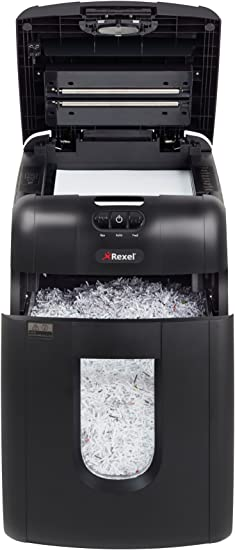 Rexel Auto Partikelschnitt mit 130 Blatt Kapazit/ät 130X Aktenvernichter Schweiz
