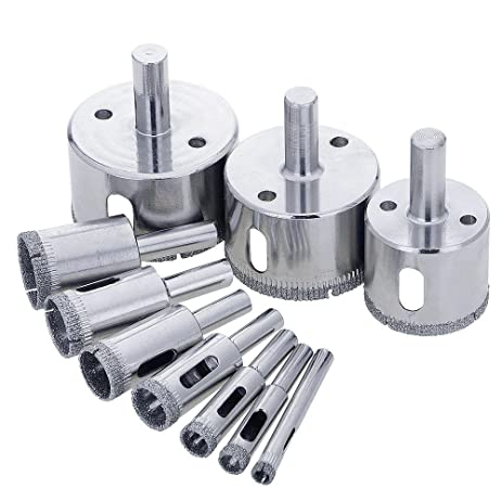 blendx diamond drill bits glass and tile hollow core drill bits extractor remover tools hole