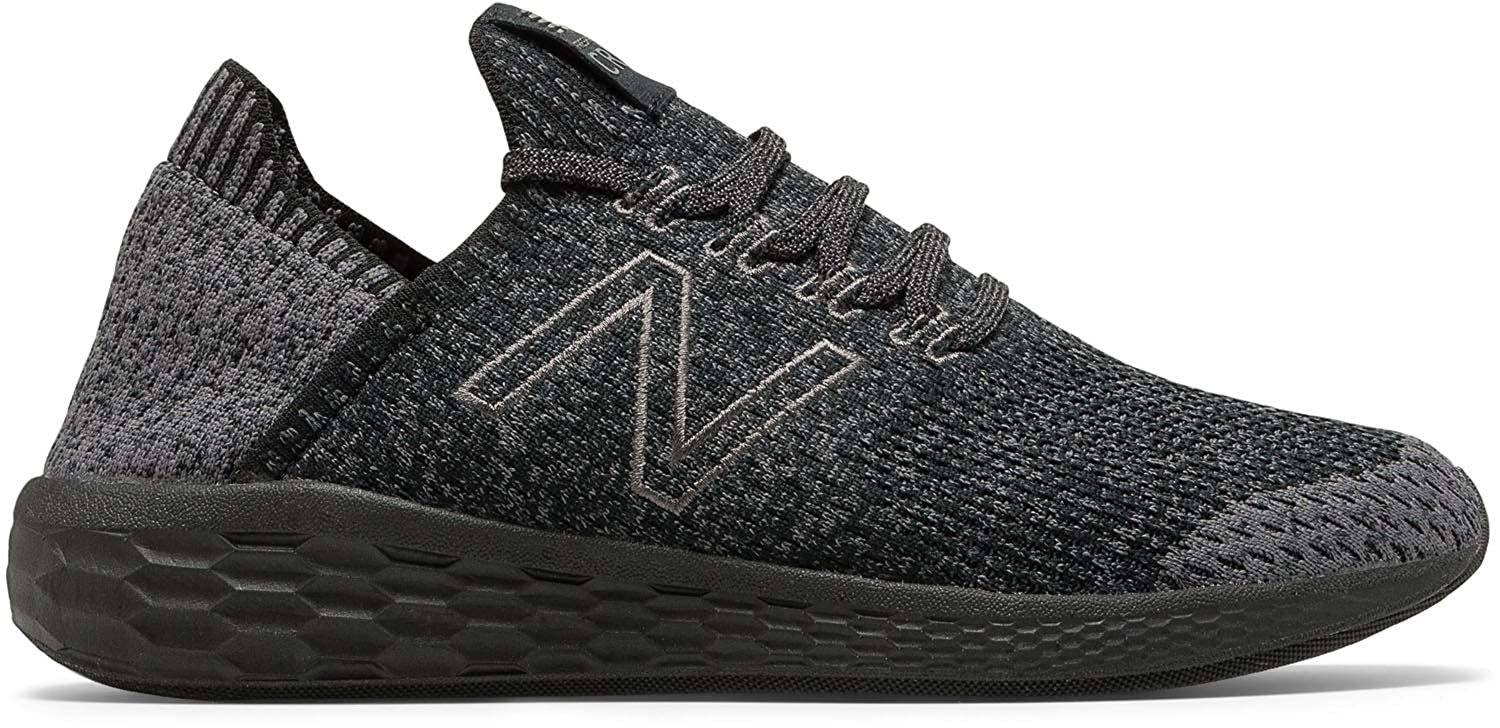New Balance Fresh Foam Homme Cruz V2 Knit, Running Homme Foam 42 EU|Magnet/Black 34dede