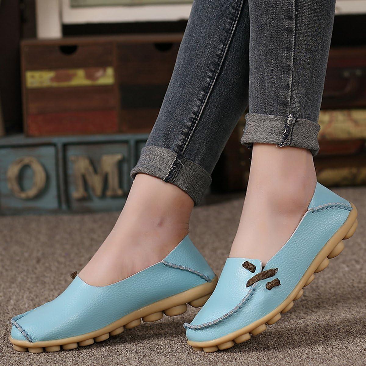 VenusCelia Womens Comfort Walking Cute Flat Loafer