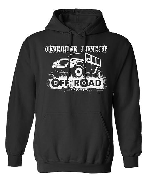 One Life Live It Off Road 4 x 4 Elija Sudadera con Capucha o suéter Hombres Mujer Unisex: Amazon.es: Ropa y accesorios