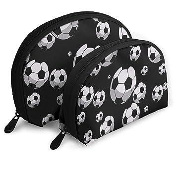 Amazon.com: Bolsas de cosméticos de fútbol, bolsa de ...