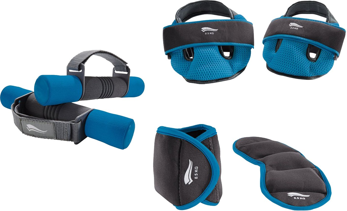 Crivit® Fitness de peso Set, 6 piezas), Unisex, azul: Amazon ...